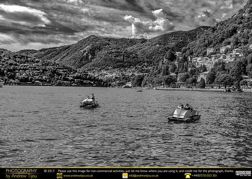 Boating on Como