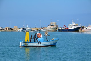 Trapani / Return fishing / Nuova Rosa boat