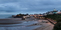 Tenby Twilight (RattyBoots) Tags: tenby twilight southwales panorama canon 5d3 24105l rrsbh40