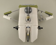 Space Flounder WIP 7 (Tammo S.) Tags: scifi space starfighter canoe spaceflounder wip moc lego