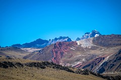 The high Andes have amazing colors.