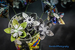 20170806-IMG_6170 (derailed photography) Tags: bell county tx texas comic con origami flower paper