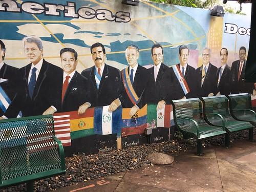 Mural Domino Park Little Havana Miami