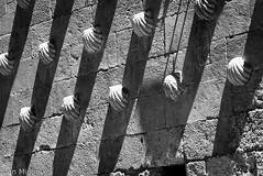 Casa de las Conchas (Juan Miguel) Tags: bw bn blackandwhite blancoynegro castillaleón españa europa europe juanmiguel lightandshadows panasonicfz200 salamanca spagne spain spanien architecture arquitectura building edificio fotografíaurbana lucesysombras urban urbana