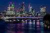 The City of London (Daniel Coyle) Tags: city london thecityoflondon thecity thecityatnight longexposure night nightphotography nightshot nightonearth londonskyline londonbluehour londonnight bluehour river riverthames thames water nikon nikond7100 d7100 danielcoyle herontower tower42 natwesttower cheesegrater 122leadenhallst gherkin 30stmaryax 30stmaryannexe walkietalkie waterloobridge bridge bridges