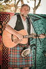 Ed Miller (GazerStudios) Tags: kilts guitars musicians sporrans vests beards blue orange tartan scottish scots celtic men singers