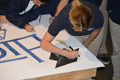 """Seniors Signing Inaugural Graduation Class Sign • <a style=""""font-size:0.8em;"""" href=""""http://www.flickr.com/photos/137360560@N02/36250301564/"""" target=""""_blank"""">View on Flickr</a>"""
