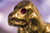 GoldenDog Macro (Emil Funch) Tags: marcro canon 70d dog golden cameraraw photoshop dk vibrant tin foil tinfoil blur productphotography trinket reverselensephotography reverselense handheld