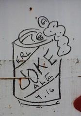 Joke Ale 4-16 (rabidscottsman) Tags: scotthendersonphotography graffiti railroadgraffiti train rr railroad moniker jokeale erl beercan ale mn minnesota rosemountminnesota sunday weekend nikon nikond7100 d7100 tamron tamron18270 18270 socialmedia usa unitedstatesofamerica
