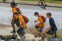 Stepping Up (Daniel M. Reck) Tags: 2017nationalscoutjamboree 2017jambo bsa boyscoutsofamerica dmrfeature dmrphoto date0725 glenjean mounthope nsj nationalscoutjamboree pigottjamboreeheadquarters sbr scouting summitbechtelreserve westvirginia year2017 backpack walking unitedstates