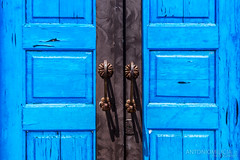 Celeste (Marzamemi) (AntonioMilicia) Tags: celeste minimal blue antica marzamemi canon antico arte