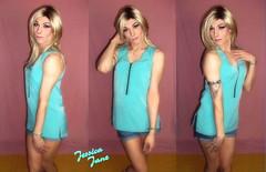 Turquoise Trio (jessicajane9) Tags: tg crossdress lgbt tgurl m2f trap transvestite cd tgirl xdress feminised transgender crossdressing tv trans hatt that