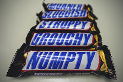 Numpty [255/365 2017] (_ _steven.kemp_ _) Tags: snickers chocolate bar