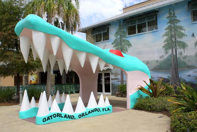 Gatorland entrance - Orlando, FL