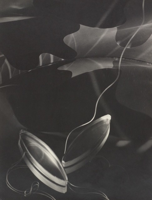 Carlotta M. Corpron by 1qcur - Prisms against Abstract Background, ca. 1940s
