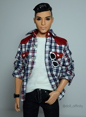 Ken Fashionista Makeover (Doll Affinity) Tags: barbie doll ken fashionistas mattel ooak custom dolls articulation handsome