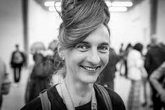 """#176 """"what the hell are you doing on this planet?"""" (Hendrik Lohmann) Tags: street streetphotography streetportrait blackandwhiteportrait blackandwhite portrait people project whatthehell hendriklohmann duesseldorf nikon nikondf"""