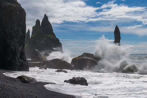 The Black Beach, Iceland