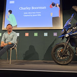 Charley Boorman (with motorbike!)