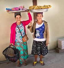 Burmese vendors in Mae Sot, Thailand (JJ Doro - Bangkok) Tags: burmese maesot moieriver myanmar rimmoie seasia thaimyanmarfriendshipbridge thailand thanaka asia asian asianmarket streetfood streetstall streetvendor tambonthasailuat tak th