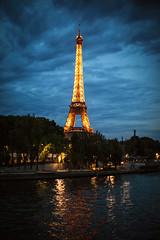 L I G H T (ewitsoe) Tags: eiffeltower tower paris france summer evening erikwitsoe canon eos5ds dusk awesome inspiring night river seine ewitsoe street city lit lights