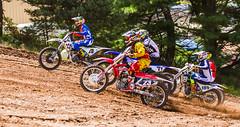 Husky In The Lead (John Kocijanski) Tags: motocross motorcycle dirtbike vehicle people race sport canon70300mmllens canon7d