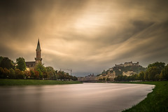 Magic Sky over Salzburg (stefanblombergphotography.com) Tags: church city clouds landscape light longexposure nature outdoor river sky stefanblombergphotography tower water wwwstefanblombergphotographycom