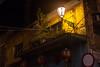 一隅 (nzfisher) Tags: macau macao 澳门 50mm canon lights street lantern lamp night light oldtown house old landscape