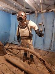Diving suit (wonder_al) Tags: marinemuseumofmanitoba manitoba selkirk museum marine diving