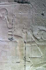 Ptah and Seti I (konde) Tags: ptah setii 19thdynasty newkingdom abydos templeofsetii ancientegypt relief art hieroglyphs