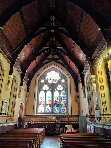 Main room, St. Mary's Church, Killarney