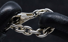 Strong connection (AvesAg) Tags: canon eos leather leder silber silver ag schmuck jewellery macromondays connection rebeligion
