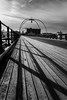 Morning Shadows (paul_taberner_photography) Tags: southportpier blackwhite blackandwhite