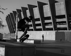 skate life (Rodrigo Marc(beginner)) Tags: skateboard sport sk8 jumping jump canon xsi rebel esporte trick street