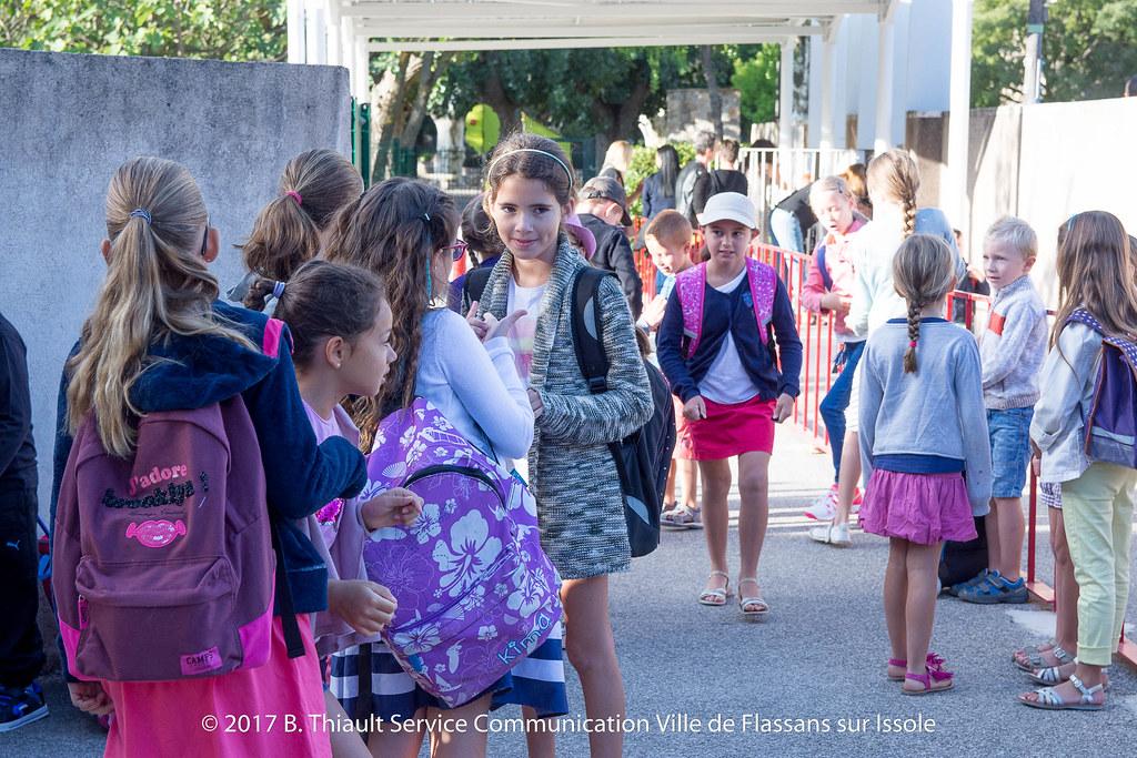 Rentrée des classes 04-09-2017