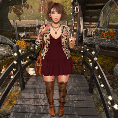 {Blog 277} Autumn came early (veronica gearz) Tags: avi avatar astralia blogging blogger blog blogs bloggers maitreya mesh secondlife second sl fall autumn 2ndlife life lelutka pumec powderpack izzies reign wasabipills empyreanforge thearcade arcade gacha minimal earthstones spiritofthesun