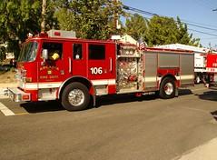 E106ARC. (Monrovia1) Tags: pierce arrowxt arc class1 arcadia arcadiafd arcadiafiredept pumper fireengine type1 engine106