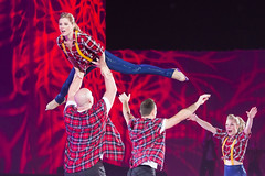 DUQ_4358r (crobart) Tags: figure skating pairs aerial acrobatics ice cne canadian national exhibition toronto