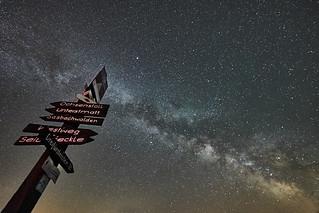 Wegweiser zu den Sternen