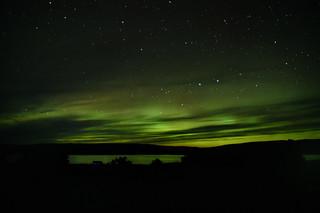Northern Lights In Pinware River Provincal Park, Labrador