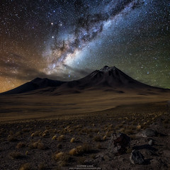 Magical of the Night (vglima1975) Tags: milkyway atacama desert chile inexplore widefieldastrophotography