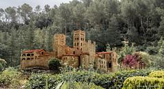 Maqueta del Monasterio de Sant Pere de Rodes,en el  Port de La Selva, Girona (Ricard Gabarrús) Tags: maquetas maqueta castillo monasterio iglesia ermita montaña airelibre olympus ricgaba monasteriosantperederodes ricardgabarrus