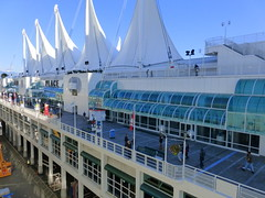 Canada Place, Vancouver (RV Bob) Tags: vancouver canadaplace building bc britishcolumbia port ship
