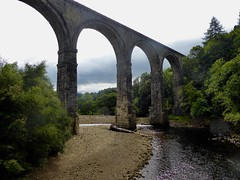 Lambley Viaduct on the disused Alston line - 32 m high (Mr Clive) Tags: