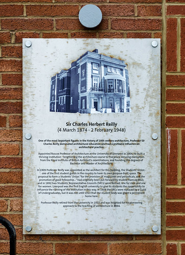 Sir Charles Reilly Plaque