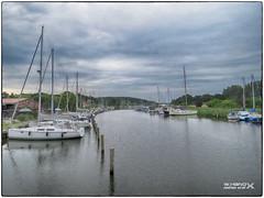 Yacht-und Bootshafen Seedorf (ahand grafX) Tags: rügen seedorf neuensienersee fluss