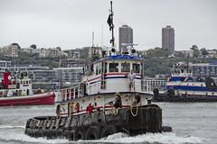 r_170903401_beat0053_a (Mitch Waxman) Tags: 2017greatnorthrivertugboatrace 42ndstreet buchanan donjon fireboatjohnjharvey hudsonriver midtown millerslaunch mistert newyorkcity newyorkharbor tugboat workingharborcommittee newyork