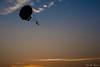 Parasailing in Evening (Saurabh Bayani) Tags: parasailing sky evening blue orange sunset sport shadow ocean beach enjoy d7100 nikon nikkor 35mm prime colors silhouette diveagar maharashtra india