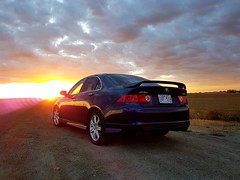 2004 Acura TSX (dave_7) Tags: 2004 acura tsx car sunset