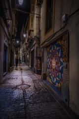 Caminando Toledo (karinavera) Tags: city night photography cityscape urban ilcea7m2 toledo street españa noche spain people handheld